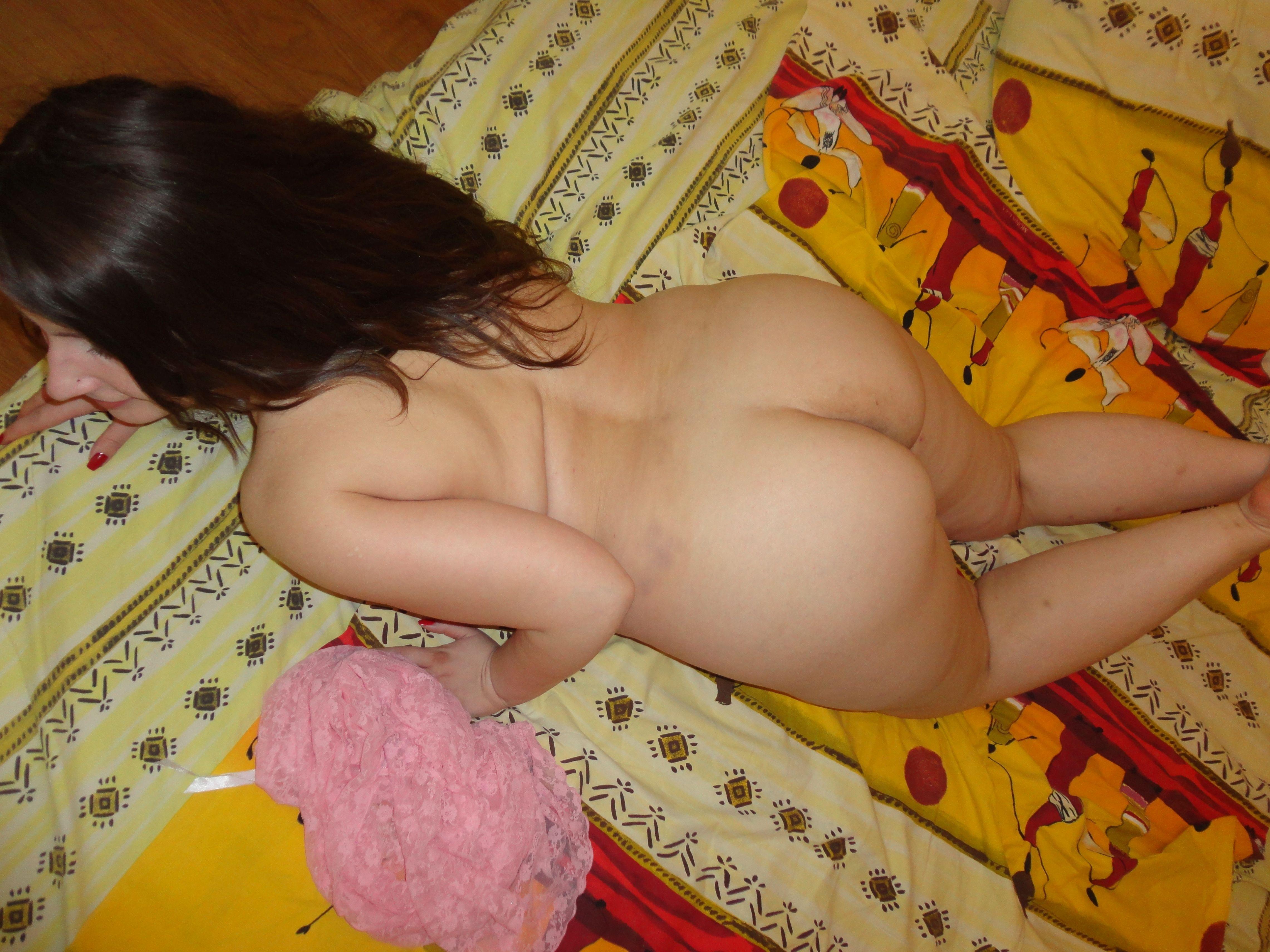 nackter fettarsch